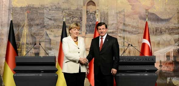 Angela Merkel Türkei