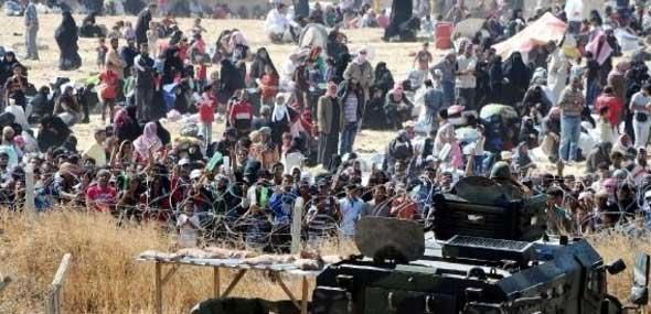 Flüchtlinge Türkei Grenze
