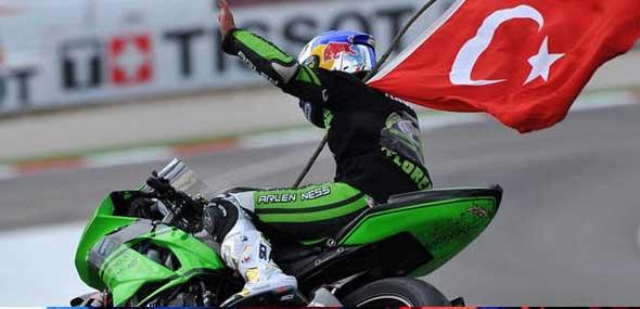 Türkischer Motorradrennfahrer
