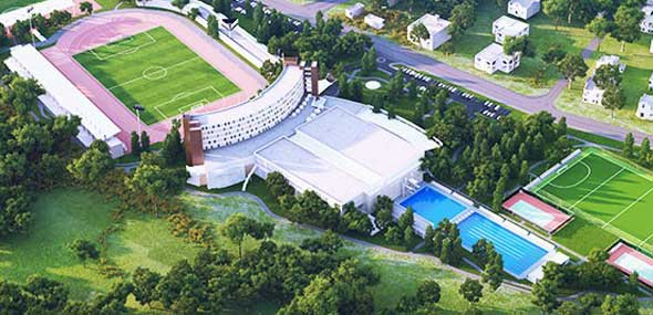 Trainingslager Gloria Sports Arena
