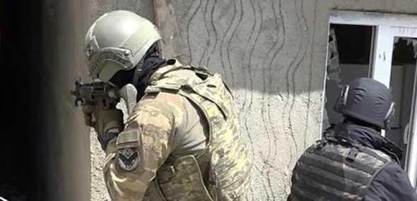 Türkische Soldaten gefallen