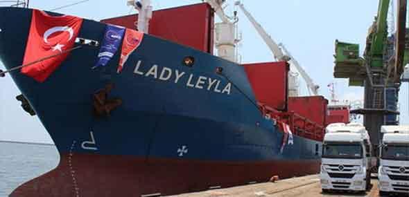 Hilfsschiff Lady Leyla