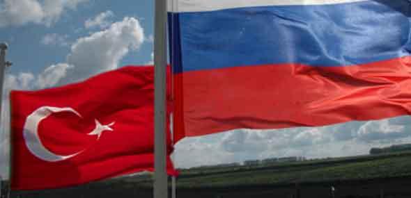 Türkei gegen Russlan