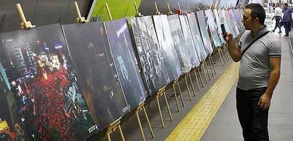 Bilderausstellung zum Putschversuch