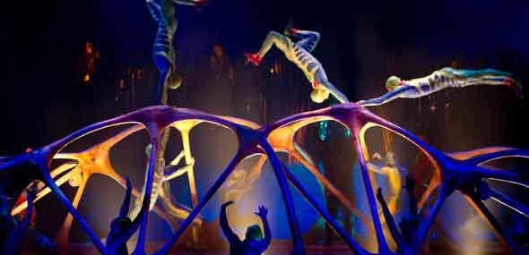 Artistik-Show Cirque du Soleil