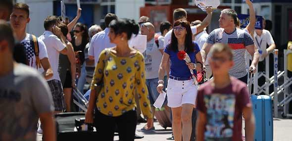 Touristen-Boom