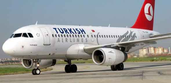 Passagierrückgang bei Turkish Airlines