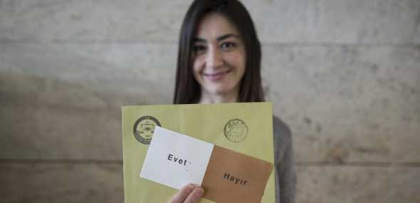 Amtliches Endergebnis Türkei Referendum