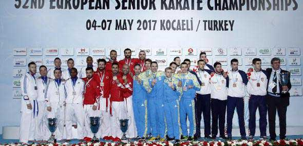 Türkische Karate-Nationalmannschaft