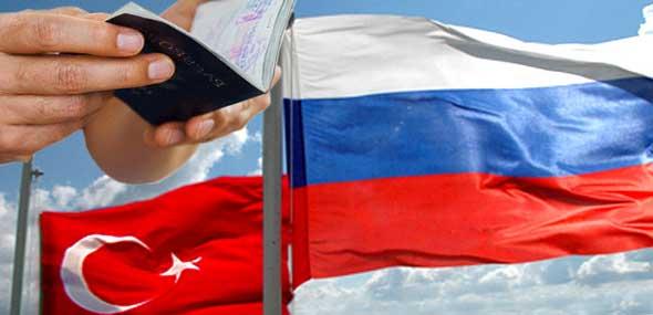 Russische Visa-Reglung für Türken