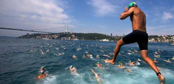 Bosporus Schwimmen