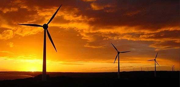 Türkische Windkraftanlage