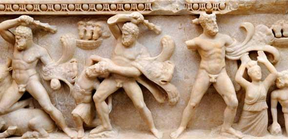 Herkules-Sarkophag Antalya