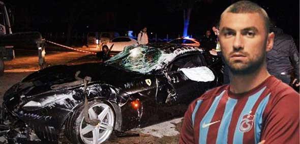 Burak Unfall mit Ferrari