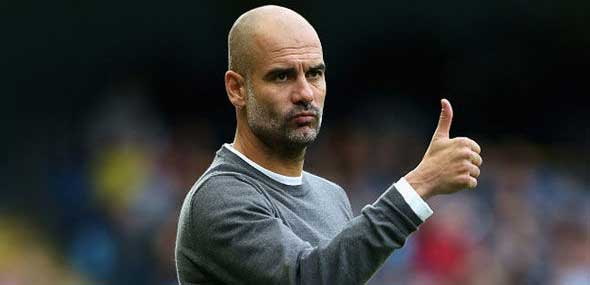 Coach Pep Guardiola