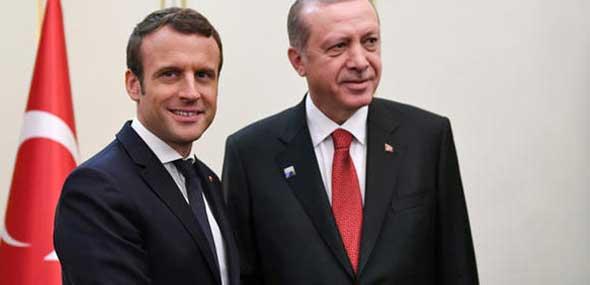 Macron und Erdogan