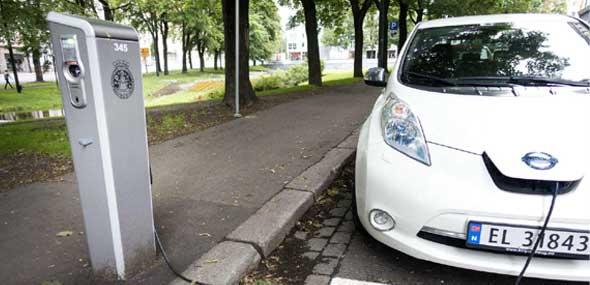 Weltweite Verkauf von Elektroautos