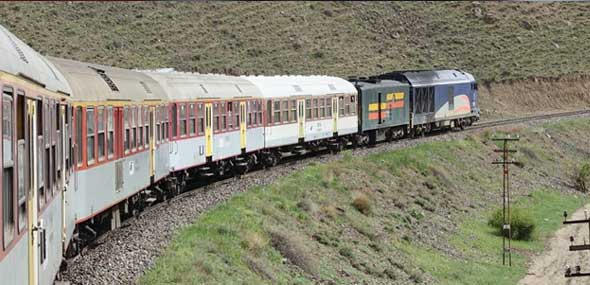 Zugverbindung Iran-Türkei