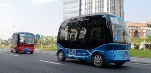Autonom Fahrend Apolong-Bus