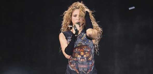 Kolumbianische Popsängerin Shakira