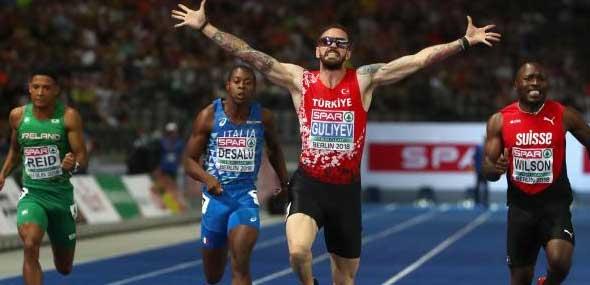 Türkischer Läufer Ramil Guliyev