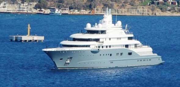 Yacht Scheich von Dubai