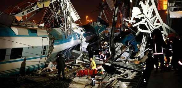 Ankara Tote und Verletzte Zugunglück