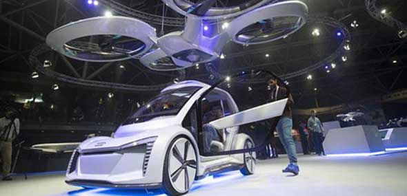 Audi, Airbus und Italdesign Drohnen-Auto
