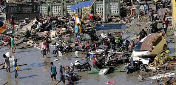 Tsunami in Indonesien