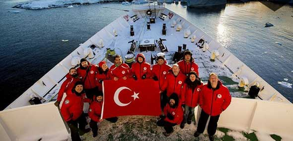 Türkische Polarforschung