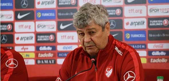 Coach Mircea Lucescu