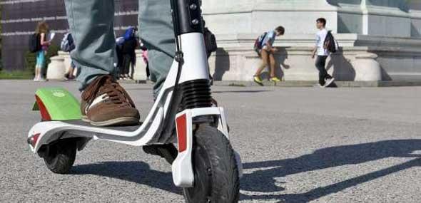 Regeln für E-Scooter Zugelassen
