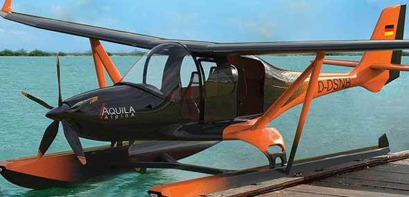 Türkisches Konzept-Flugzeug Alpina