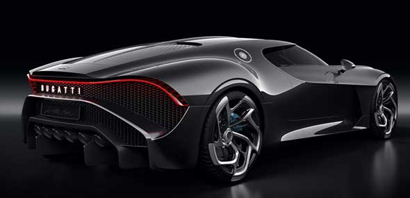 Genfer Autosalon La Voiture Noire Bugatti