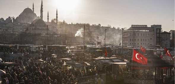 Istanbul Stadt am Bosporus