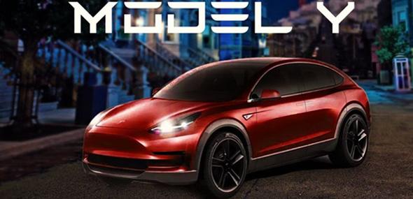 Kompakt-SUV Tesla Model Y