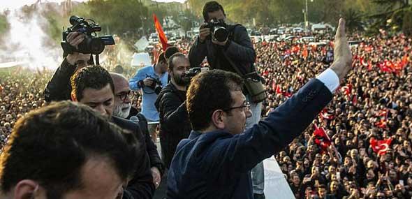 Ekrem Imamoglu Bürgermeister von Istanbul