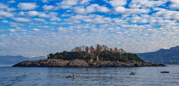 Insel Giresun UNESCO Weltkulturerbe