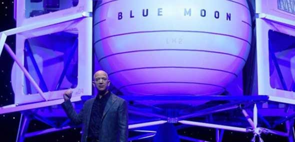 Amazon-Boss Bezos Blue Moon
