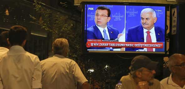Neuwahl in Istanbul