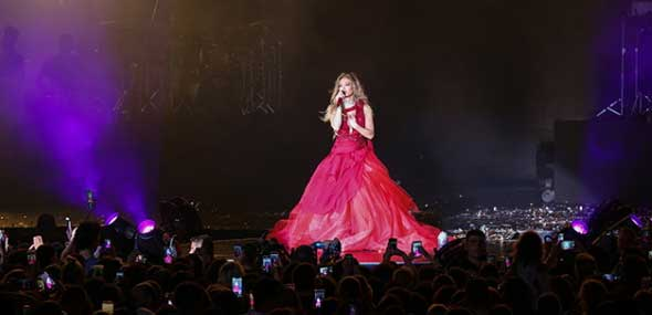 Konzert Jennifer Lopez Regnum Carya