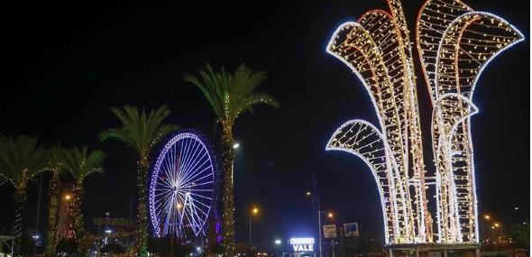 Antalya Weihnachten Neujahr