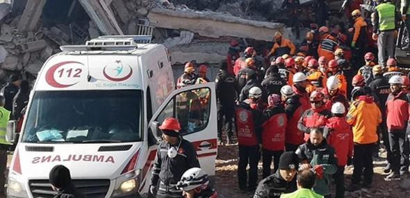 Erdbeben Türkei Sivrice
