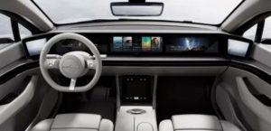 SONY Elektroauto Vision S