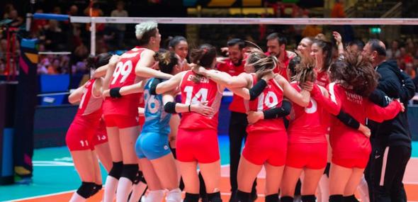 türkische Volleyball-Sultaninnen