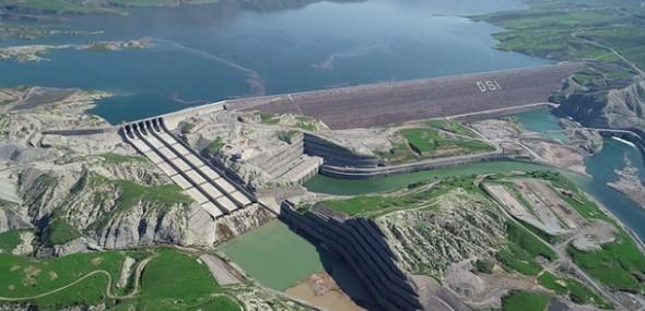 Ilisu-Damm erste Turbinen in Betrieb