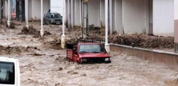 Türkei Überschwemmungen Rize