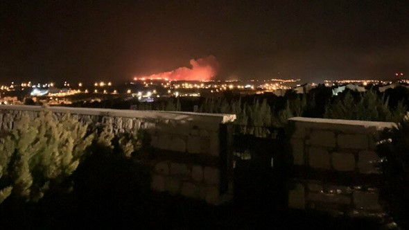 Waldbrand Türkei Izmir