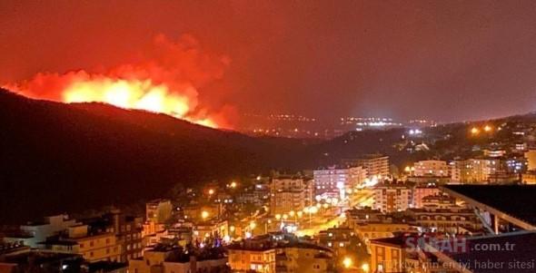 Massiver Waldbrand Türkei