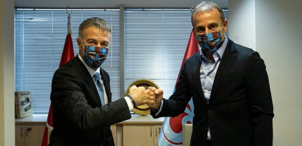 Abdullah Avci Trabzonspor-Trainer